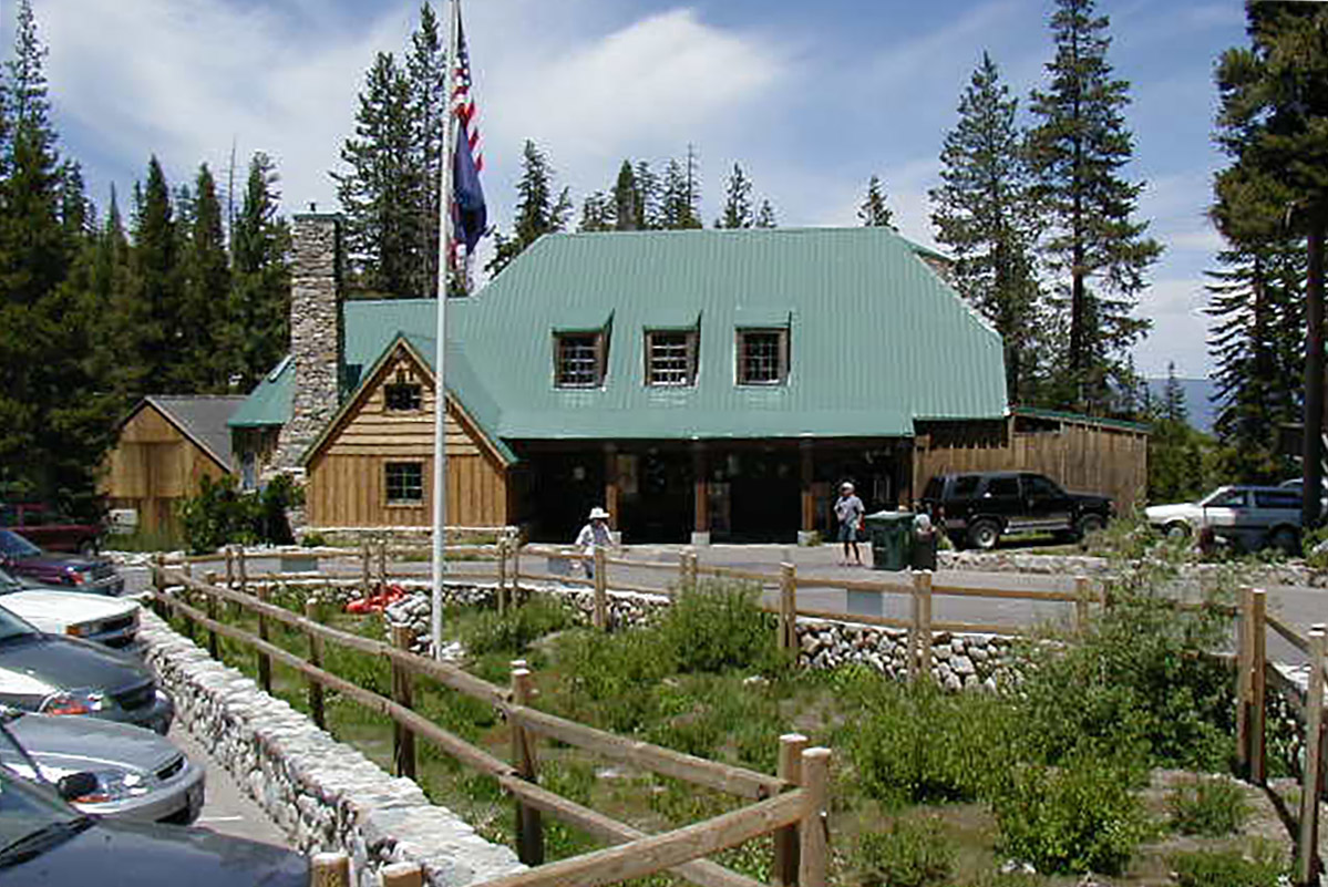 Echo Chalet Lodge front